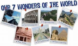 Jayant parkash: The Seven Wonders Of The World