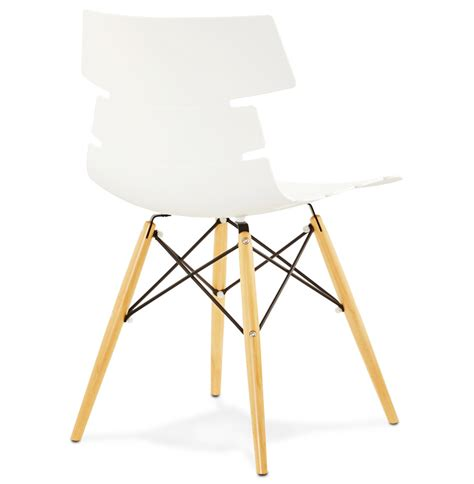 chaise moderne blanche chaise moderne sofy blanche style scandinave chaise design
