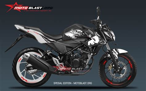 Modif Striping New Cb150r Hitam Merah honda new cb150r striping kabuki dalam 3 warna hitam