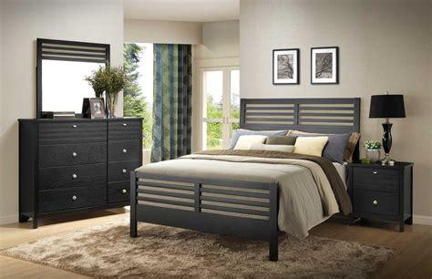 Coaster Richmond Bedroom Set Black 202721 Bed Set