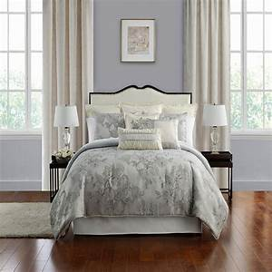 Lacy, Silver, By, Waterford, Luxury, Bedding
