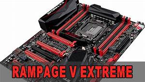 Review  Asus Rampage V Extreme - Unboxing  U0026 Review  German