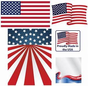 Vector American Flag   Download Free Vector Art   Free-Vectors