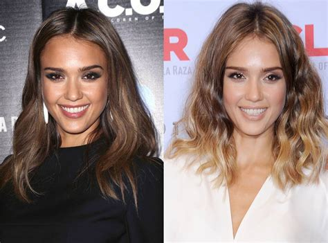 Jessica Alba From Celebrities Changing Hair Color E News