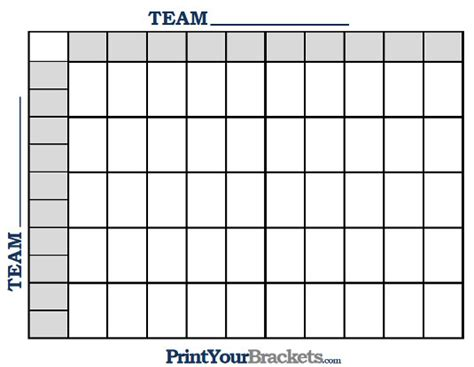 printable nba  square grid office pool basketball