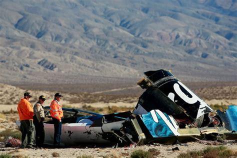 Spaceshiptwo Virgin Galactic Crash Human Error To Blame