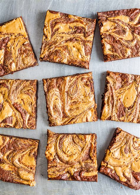 keto peanut butter swirl bars recipes