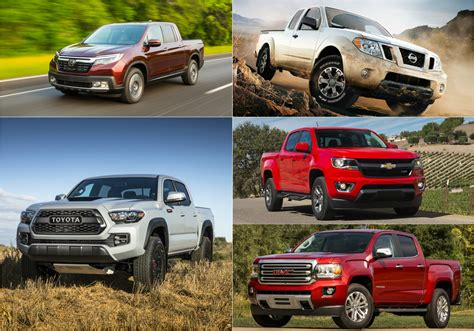 Midsize Truck Comparison by 2016 Was The Year Midsize Trucks Fought Back