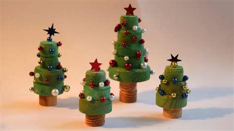 weihnachtsbaum aus holzscheiben basteln youtube