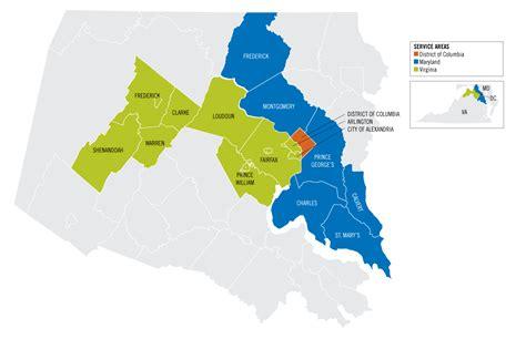 washington gas service territory