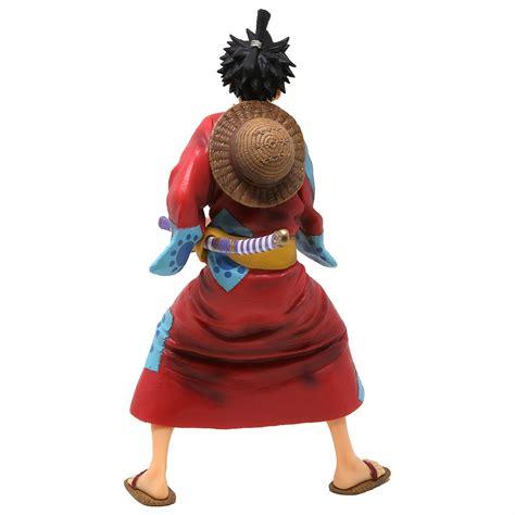 banpresto  piece monkey  luffy japanese style figure red