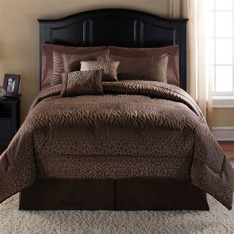 mainstays  piece safari comforter set fullqueen