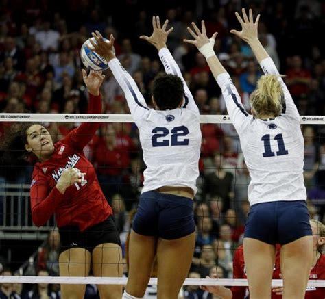 Nebraska Rallies Past Penn State In Ncaa Volleyball Semis
