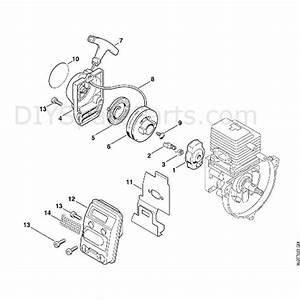 Stihl Fs 80 Brushcutter  Fs80 4137   Parts Diagram  B