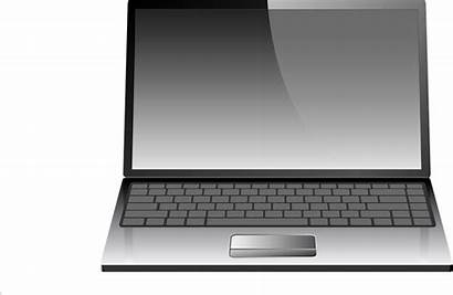 Laptop Clipart Blank Pc Layar Computers Komputer