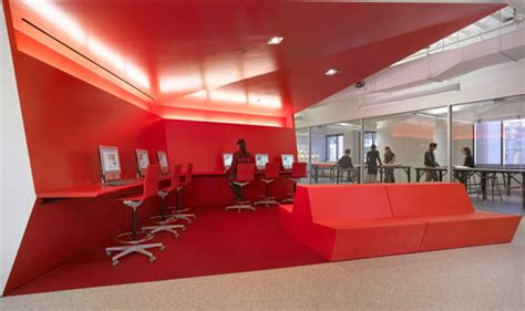 modern college interior design  clive wilkinson