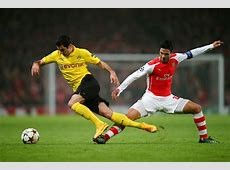 Henrikh Mkhitaryan Photos Photos Arsenal FC v Borussia