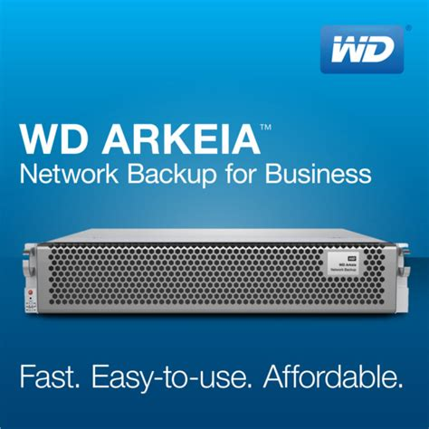 WD Launches Fourth Generation WD Arkeia Network Backup ...