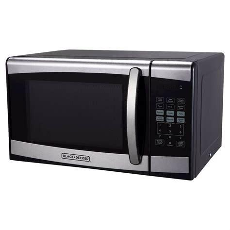 Einbauherd Mit Mikrowelle by Black Decker 0 9 Cu Ft 900 Watt Microwave Oven