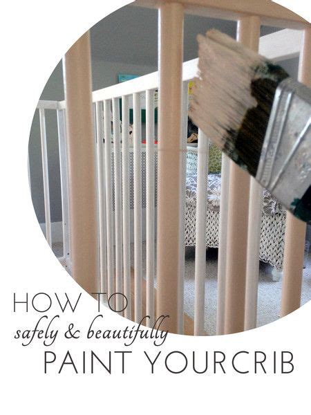 How To Safely Paint A Crib From Quiet Home Paints