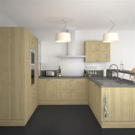 plan de travail cuisine bois brut idée relooking cuisine cuisine cagne meubles de