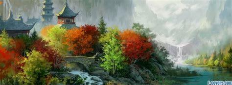 japanese art landscape facebook cover timeline photo