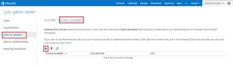 Office 365 Outlook Voice Access by Configuring Cx600 Lpe For Office365 E4