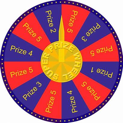 Wheel Transparent Clipart Spinning Roulette Prize Graphic