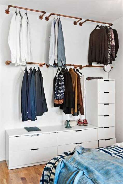 Decorating Ideas Clothes by Best 25 Hanging Clothes Racks Ideas On