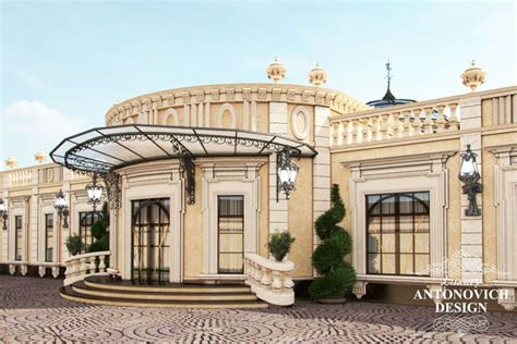 professional luxury villa exterior designs  qatar