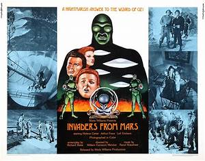 Invaders From Mars Ii - Alien Invasion B Movie Posters