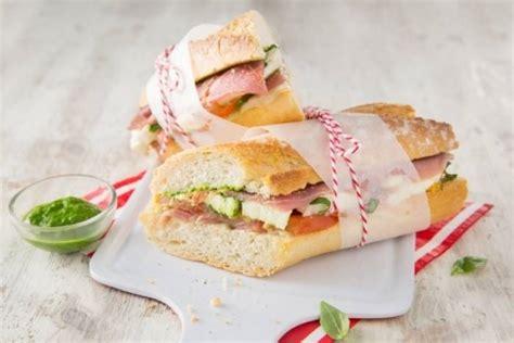recette cuisine italienne gastronomique recette de sandwich à l 39 italienne rapide