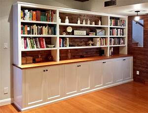 Built In Bookshelves — SJ Sallinger Designs