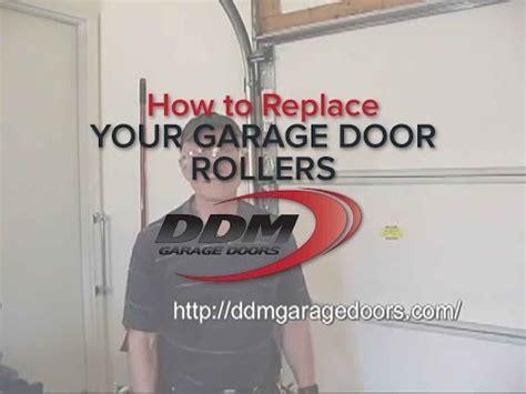 how to replace garage door how to replace your garage door rollers
