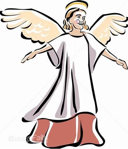 Clipart Angel Church Child Isaiah Singing Seraphim