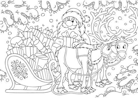 Kleurplaten Kerst de allermooiste kerst kleurplaten tijd met kinderen