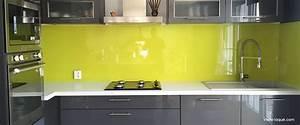 Crédence Cuisine En Verre : choix des couleurs professionnel du verre laqu sur ~ Premium-room.com Idées de Décoration