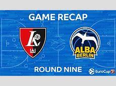 Highlights Lietuvos Rytas Vilnius Alba Berlin