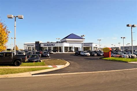 Jaguar Land Rover Of Naperville by Gerald Subaru Of Naperville New Automotive Dealership