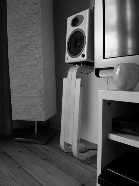 frosta speaker stands  bookshelf speakers ikea