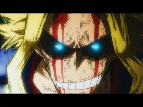 For All by All For One Vs One For All All Might Boku No