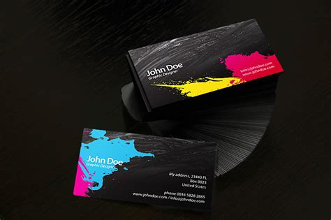 Business Card Cmyk By Ansonika On Deviantart