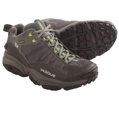 vasque velocity tex 174 trail running shoes waterproof