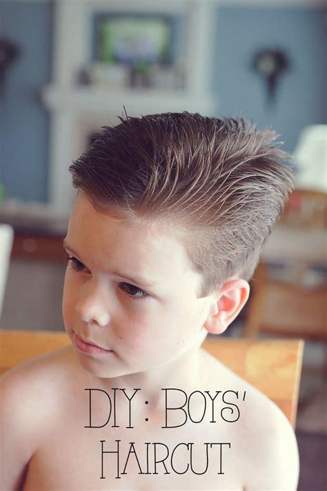 misters sister diy boys haircut boys
