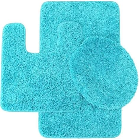 cheapest  piece bathroom rug sets