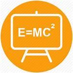 Science Formula Emc2 Einstein Icon Education Physics