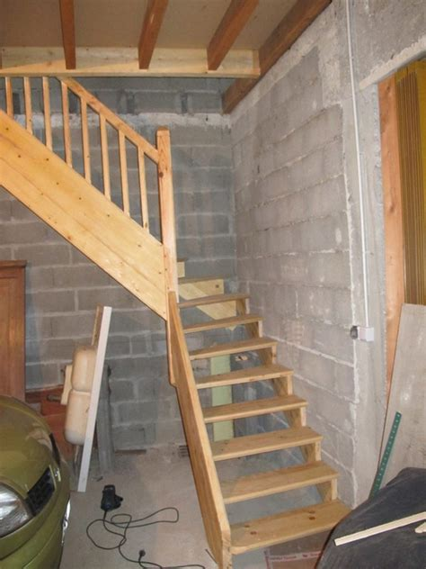 construire un escalier en bois soi m 234 me