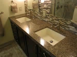 attractive bathroom countertop ideas