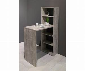 Bartisch Mit Regal : tresentisch mit regal theke bar bartisch ca 90 x 92 148 x 45 cm beton grau ebay ~ Indierocktalk.com Haus und Dekorationen