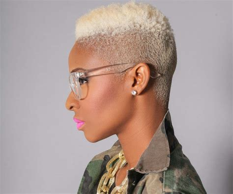 20 Creative Short Looks For Natural Hair Styles Weekly